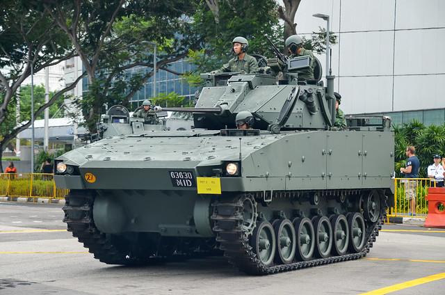 Singapore Army Bionix II 2 Man Turret (2MT)