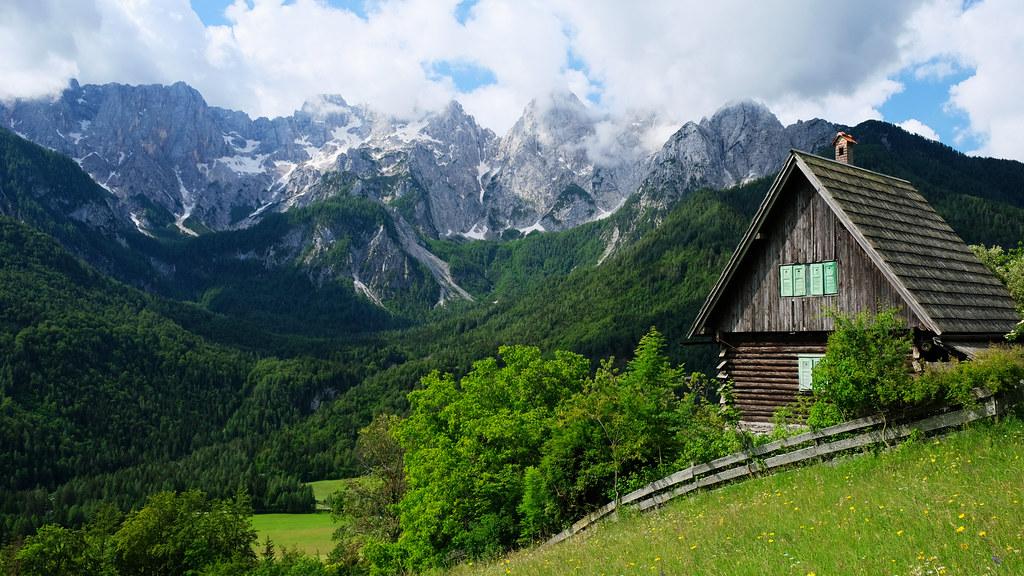 Srednji Vrh loop, Triglav National Park, Slovenia