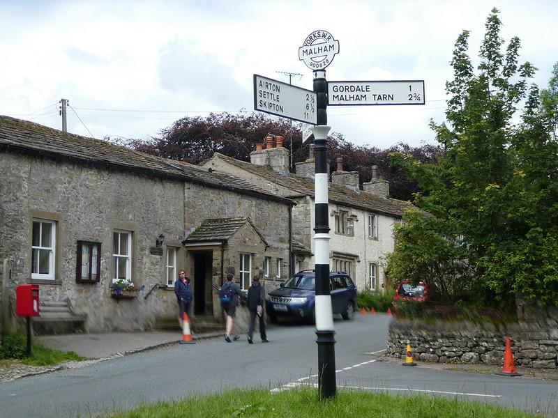 Malham village centre