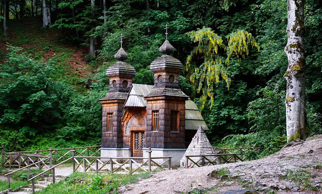 Russian Chapel, Triglav National Park, Slovenia