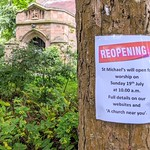 Good to see St Michael's church reopening soon