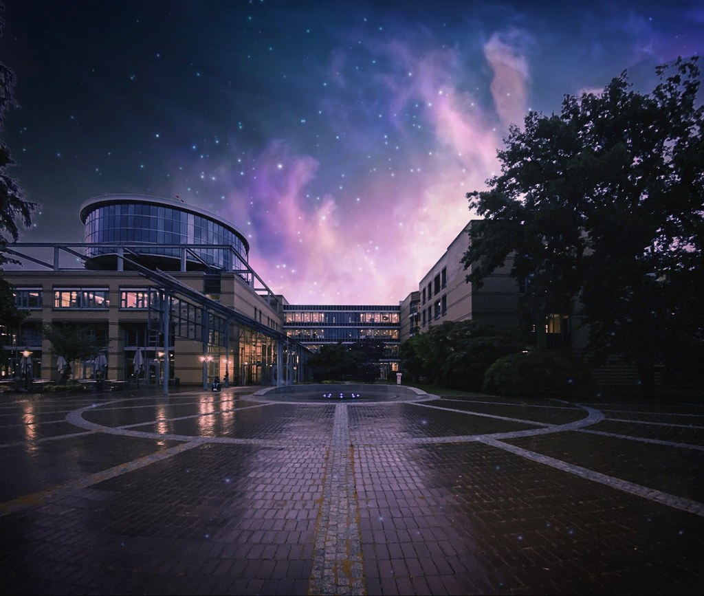 "The Accident Hospital Berlin by Night. ☆ ""Thanks for the Flickr explore"