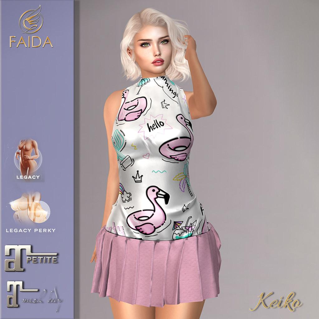 Faida – Keiko flamingo