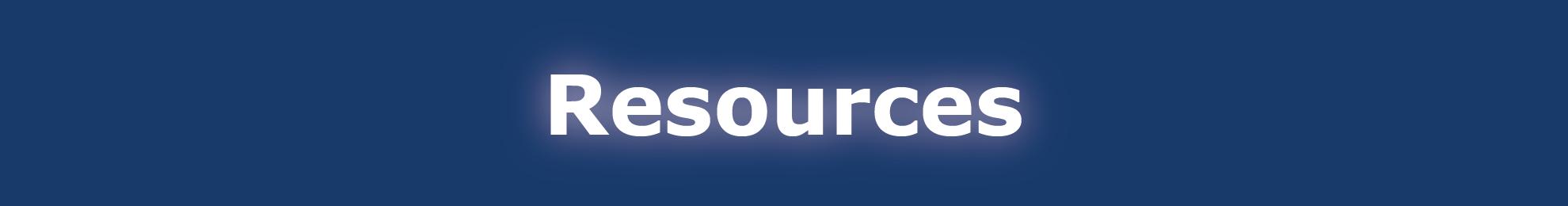 Resources Page Header Banner