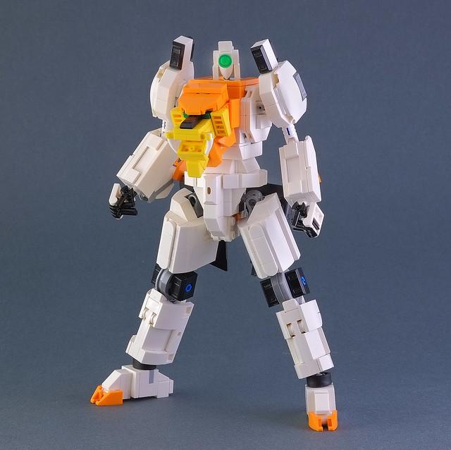 Lego Gaigar (from Gaogaigar)