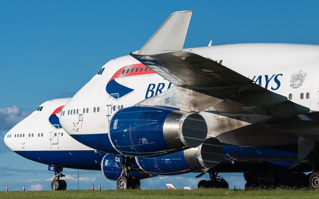 BA 747 storage