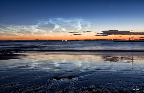neowise johnbaker astrophotography dawn minehead moon landscapes somerset astro wales noctilucent sunrise nlc night mist clouds harbour barry raddon crediton comet