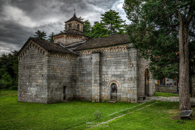 Montorfano (Mergozzo, Piemonte): the Romanesque Church of San Giovanni Battista (12th century) -§1-