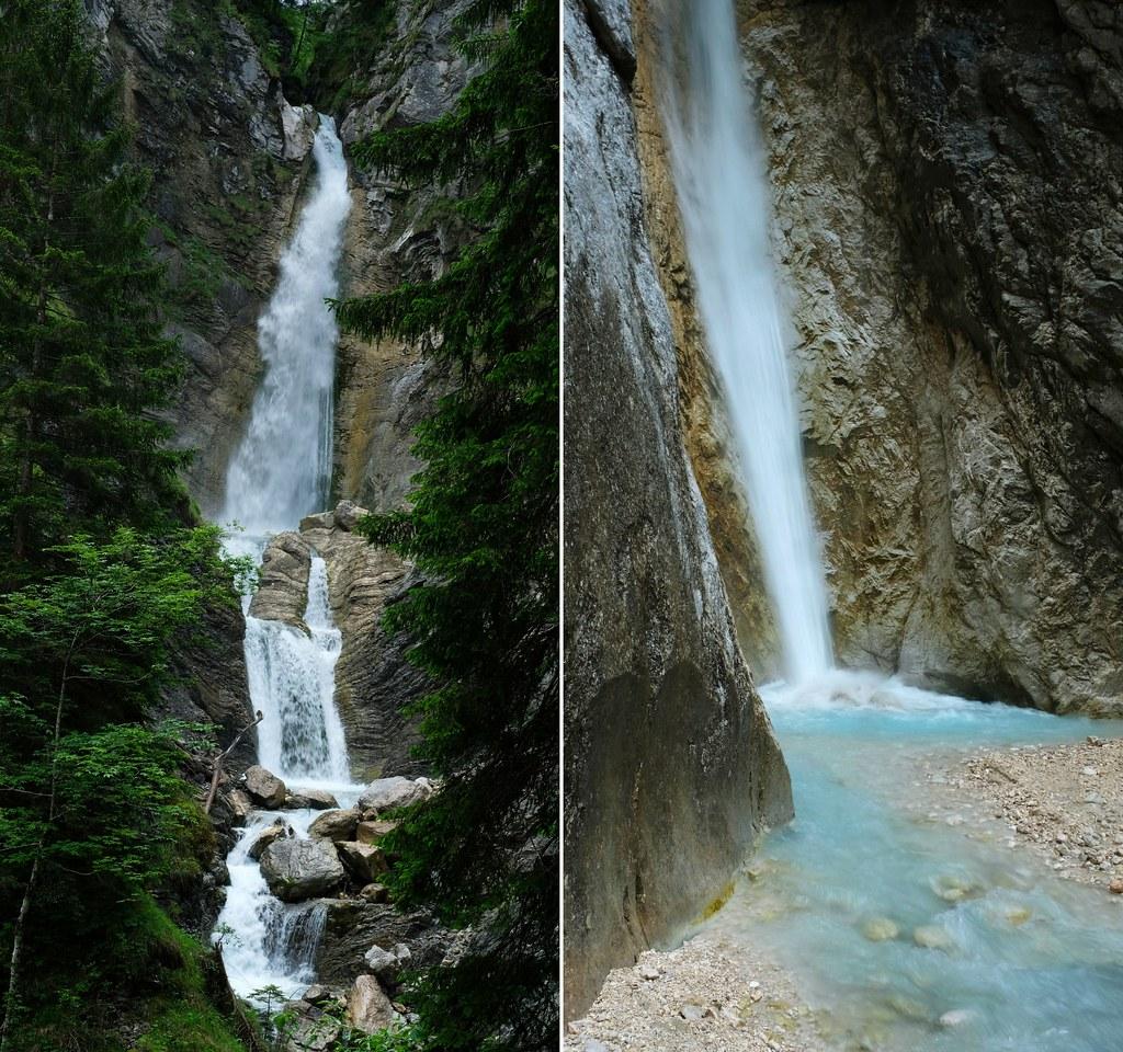 Lower & Upper Martuljek Falls, Triglav National Park, Slovenia
