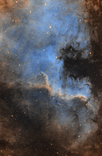 North America Nebula in SHO | by xcris9y