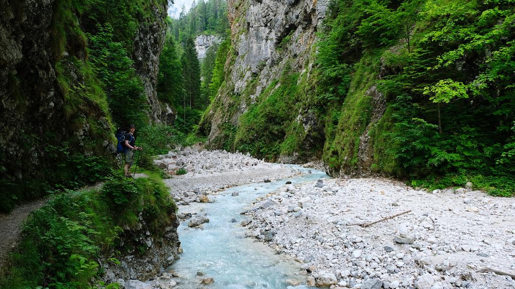 Martuljek Gorge, Triglav National Park, Slovenia