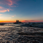 8. Juuni 2020 - 21:09 - Enjoying the sunset, overlooking Lake Erie at Huntington Beach.