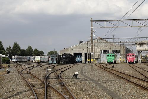 夏の大人向け企画「大人の秩父鉄道見学ツアー」