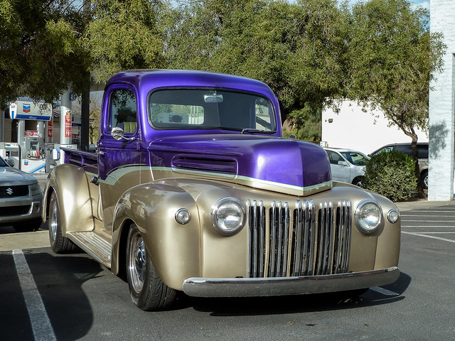 Old Ford Pickup Truck