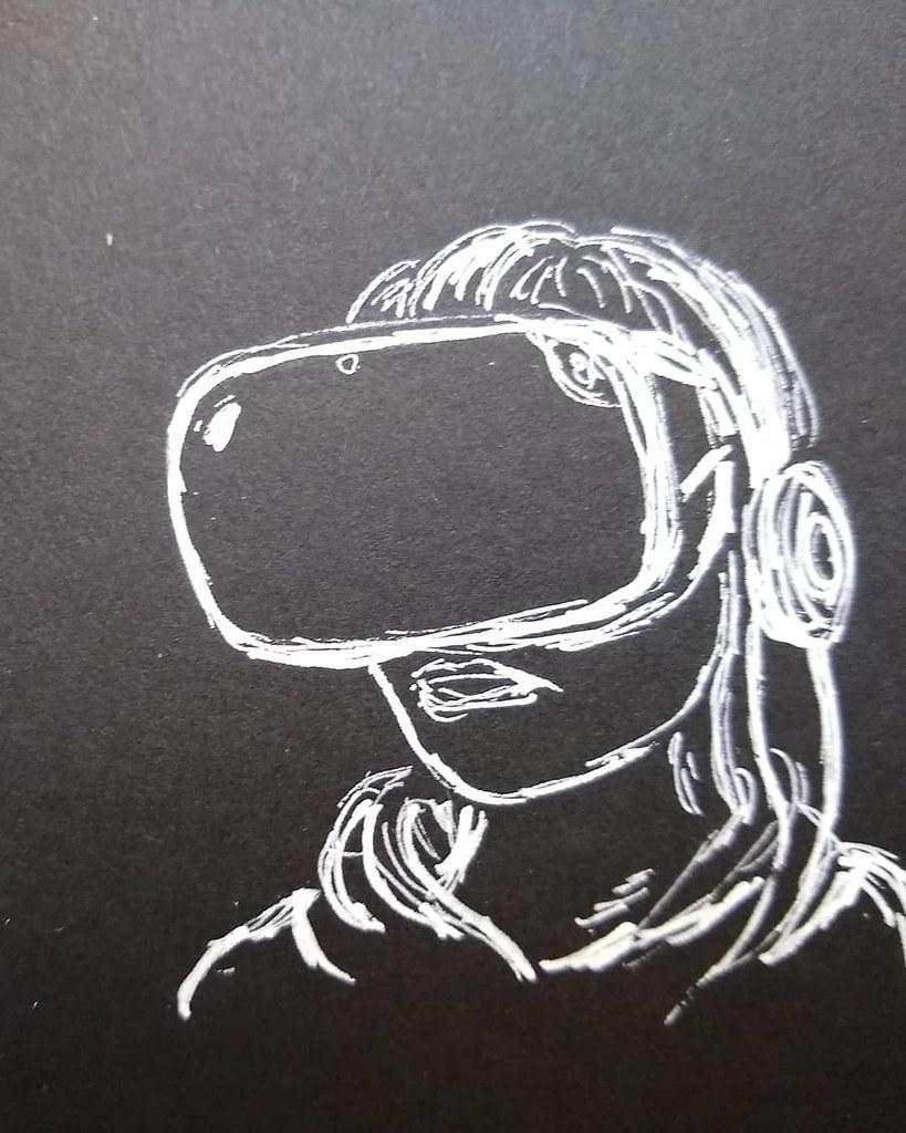 #inksketch #i2f #oculusquest #robotboy #sketchbookproject #artistsoninstagram #artist