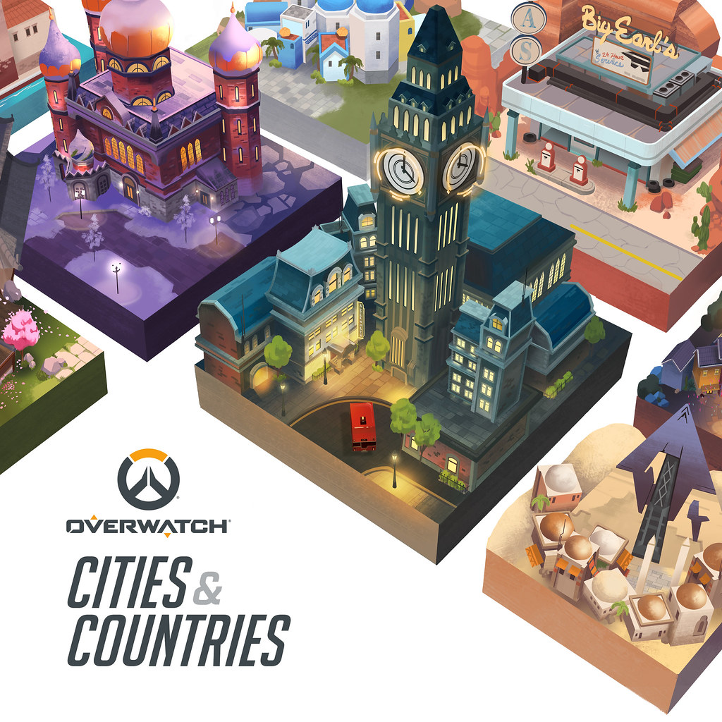 Overwatch: Cities & Countries