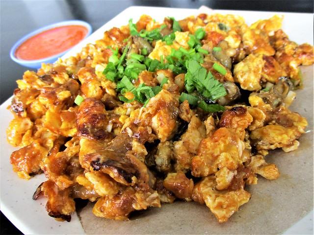Or chian oyster omelette