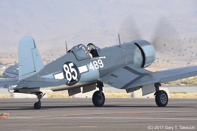 Reno Air Races 2017 - Goodyear FG-1D Corsair Race #85
