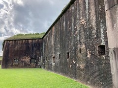 The Walls Of Fort Morgan