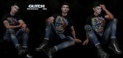 GLITCH // #Alone (Male bento poses)
