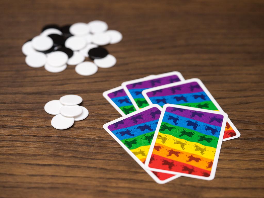 lama juego cartas game knizia