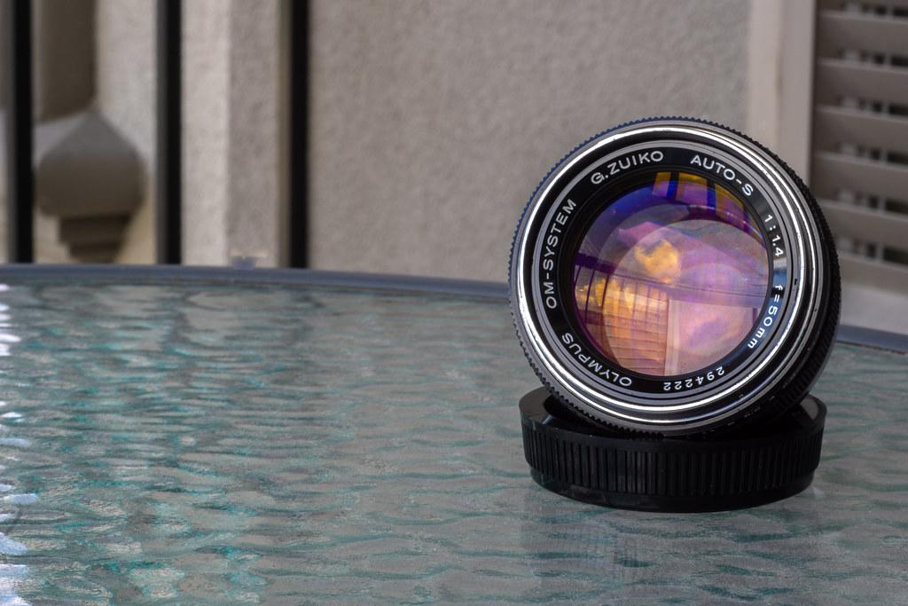 Optical Review Blog No. 15 - Olympus G.Zuiko Auto-S 1:1,4 f=50mm