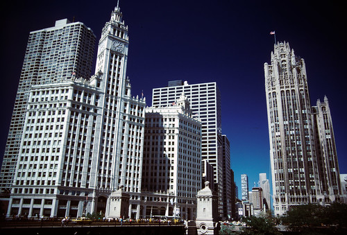 Wrigley Building - Tribune Tower