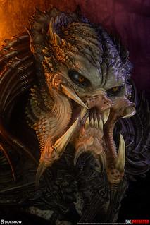 極具侵略感的兇狠面容殺到! Sideshow Collectibles 傳奇系列【蠻族終極戰士(Predator Barbarian) - Mythos】1/2 比例半身胸像