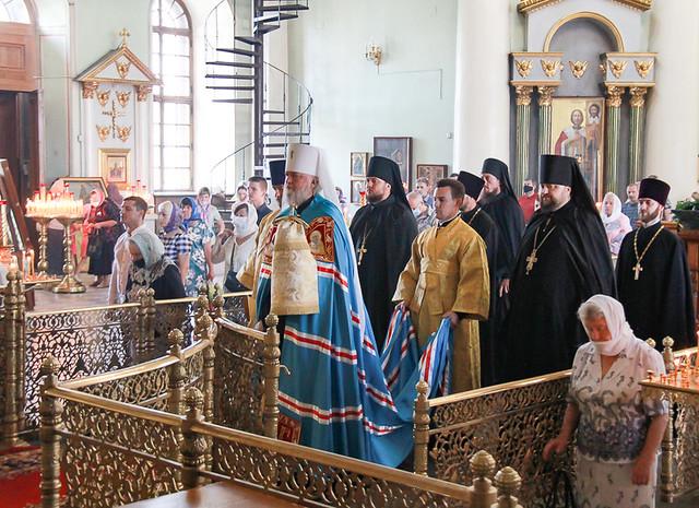 В день памяти апостолов Петра и Павла 12.07.2020