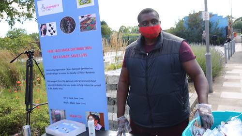 COC distributes Face Masks