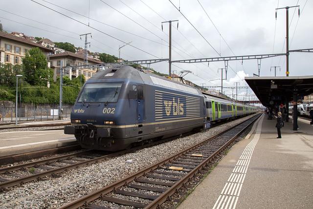 BLS Re 465 002 Neuchâtel