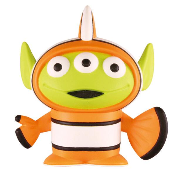 卡爾爺爺三眼怪超級可愛~! T-ARTS《玩具總動員》滿滿的三眼怪收藏 皮克斯特別篇(エイリアンいっぱいコレクション ピクサースペシャル!)