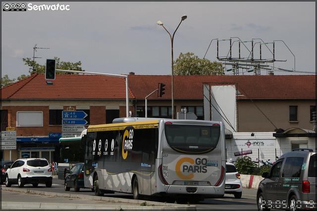 Iveco Bus Crossway LE – Keolis Orly Rungis / Île de France Mobilités n°257