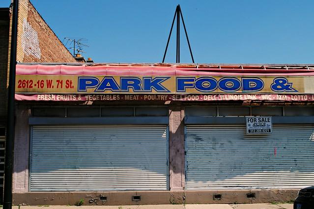 Closed Park Food, Chicago