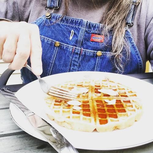 Waffle nite! #yum #waffles