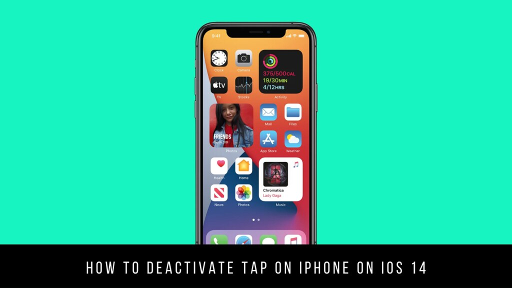 How to Deactivate Tap on iPhone on iOS 14