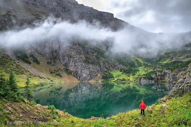 Foggy Morning @ Stoney Indian Lake, Glacier National Park, Montana, USA