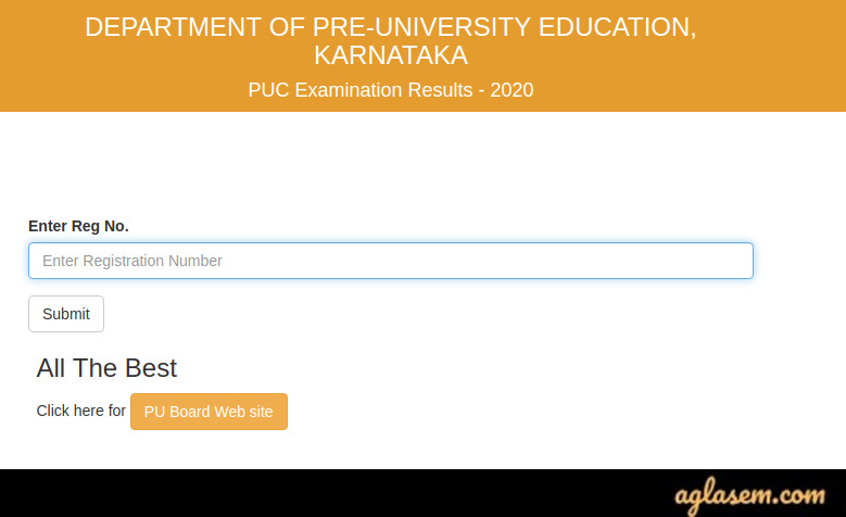 How To Check Karnataka 2nd PUC Result 2020