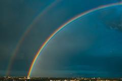 Double Rainbow | Kaunas aerial #195/365