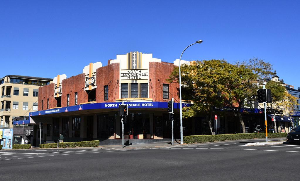 North Annandale Hotel, Annandale, Sydney, NSW.