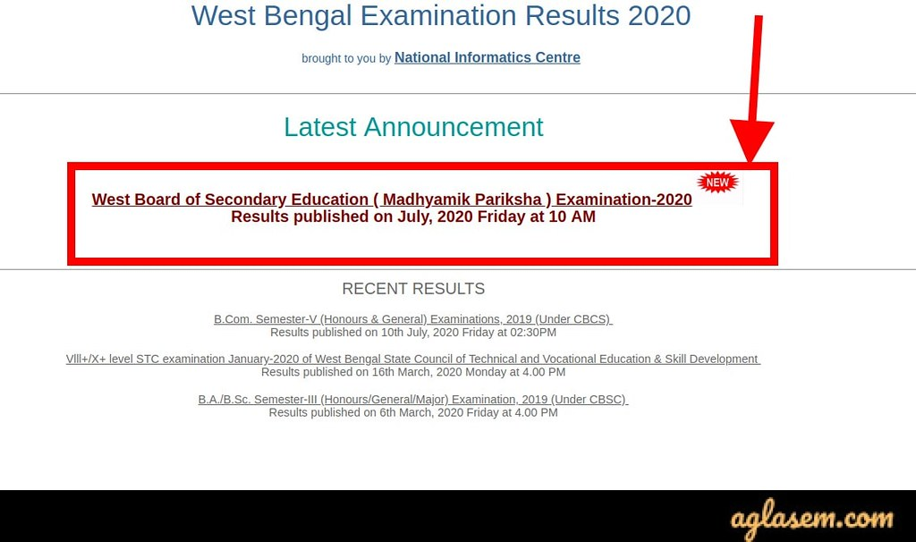 WBBSE Result 2020 Date: West Bengal Madhyamik Result on 15 July and Class 12 on 17 July
