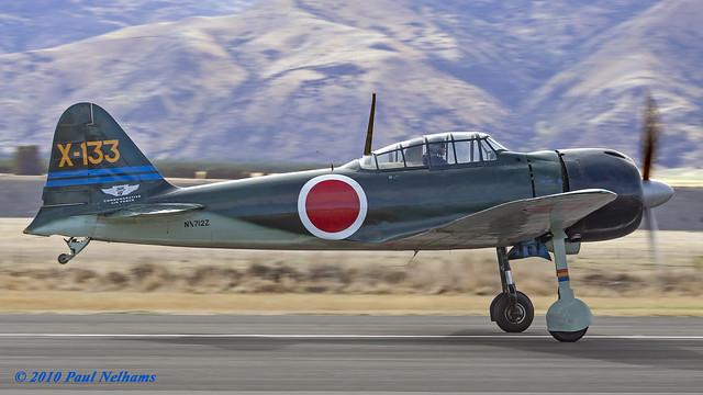 NX712Z Mitsubishi A6M3 Zero Replica