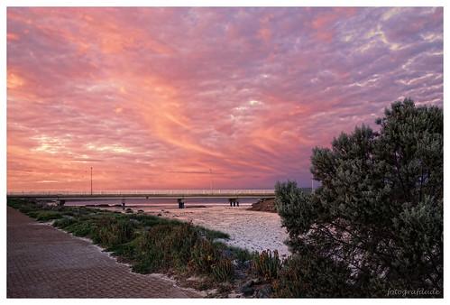 glenelg beach bridge southaustralia sunset sky fotografdude