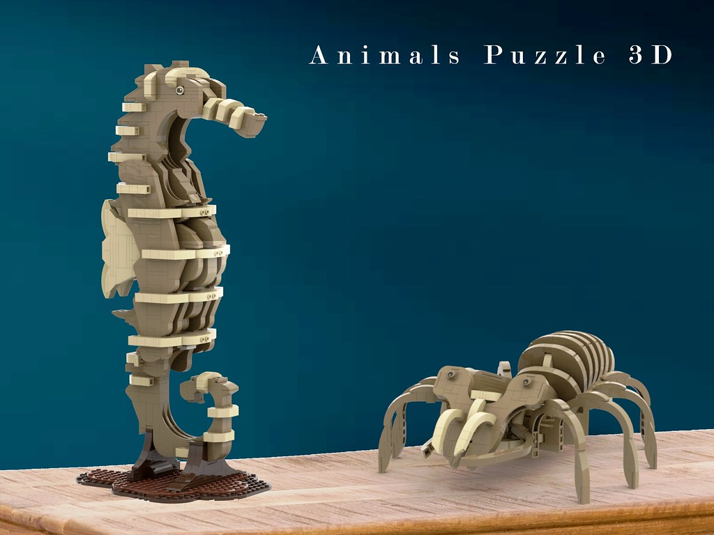 LEGO Animals Puzzle 3D