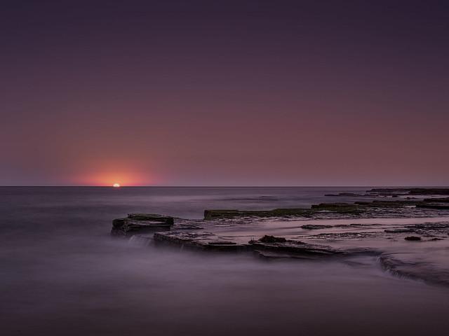 Turimetta moonrise