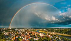 Double Rainbow | Kaunas aerial