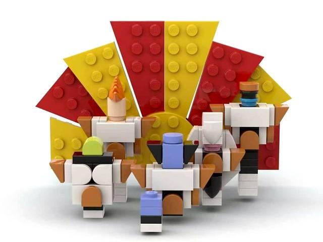 Dragon Ball Lego MiniBrickHeadz