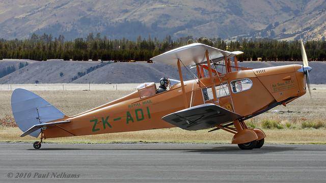 ZKADI Fox Moth Air Travel (NZ) Ltd