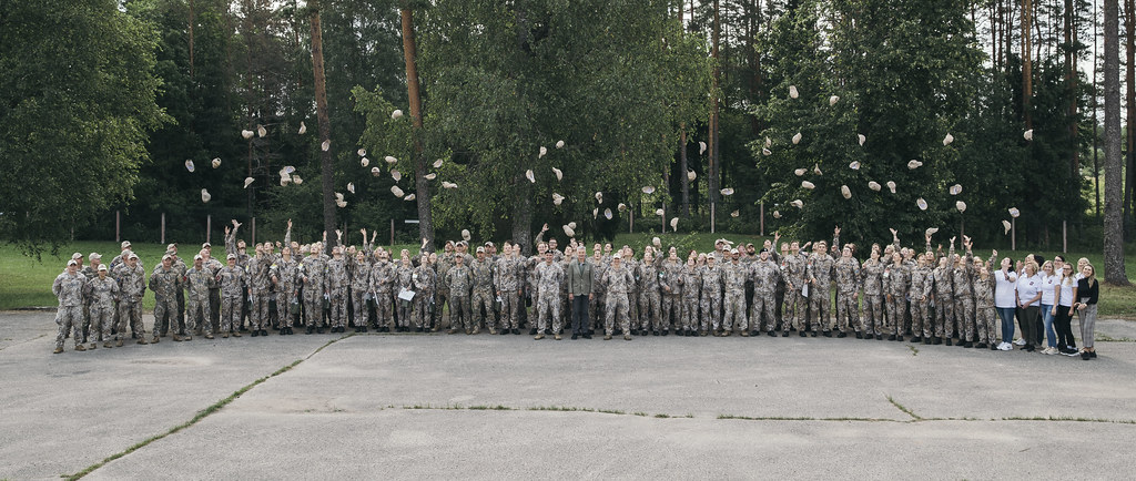 Valsts aizsardzības mācības nometnes noslēgums