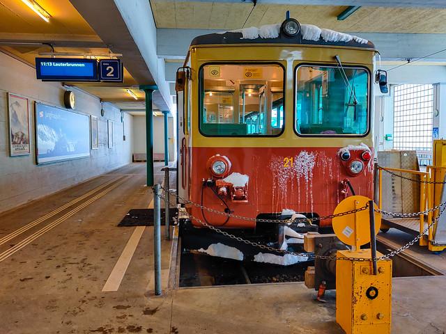 Mürren station.